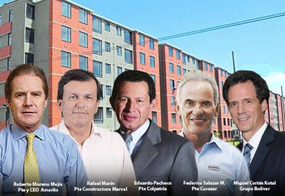 Las cinco constructoras que han hecho millones con las viviendas de interés social