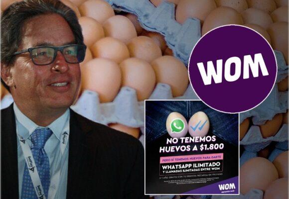 La publicidad de Wom que pone en la picota al ministro Carrasquilla