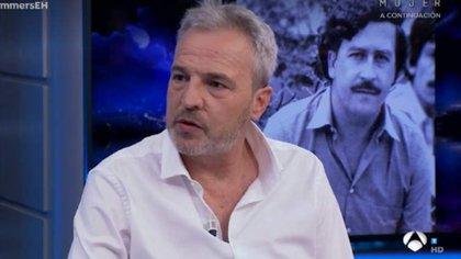 La relación de Hombres G y Pablo Escobar