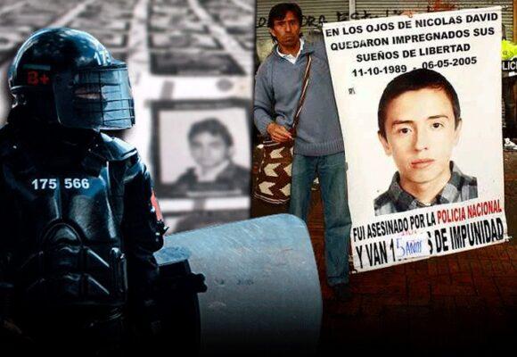 La tenacidad de Yuri Neira logró que el agente del Esmad pagara por el crimende su hijo