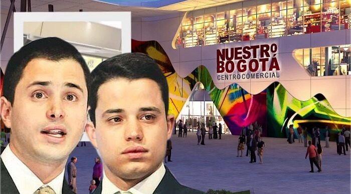 Con tanquetas la policia protege centro comercial de los hijos de Uribe