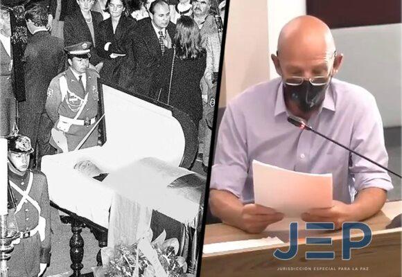 Mauricio Gómez en la JEP: nuevas revelaciones del asesinato de su padre