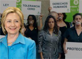 El entusiasmo de Hillary Clinton por la causa de Jineth Bedoya