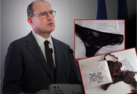 Creativa protesta: envían bragas al primer ministro francés