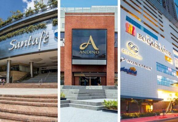 Los centros comerciales en donde se van de compras los millonarios en Colombia