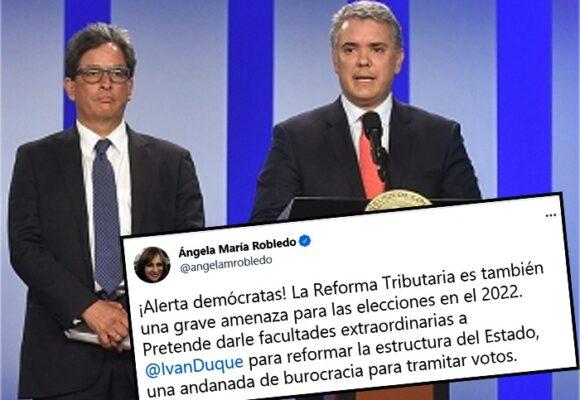 Con la reforma tributaria Duque y Carrasquilla dejarían amarrado al proximo Presidente