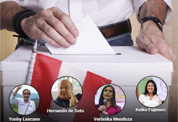 Elecciones presidenciales en Perú: la única certeza es que habrá segunda vuelta