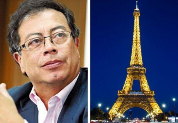 ¿Petro va a marchar desde Paris?