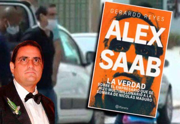 El libro de Alex Saab: el íntimo de Chávez, Maduro y pesados políticos colombianos
