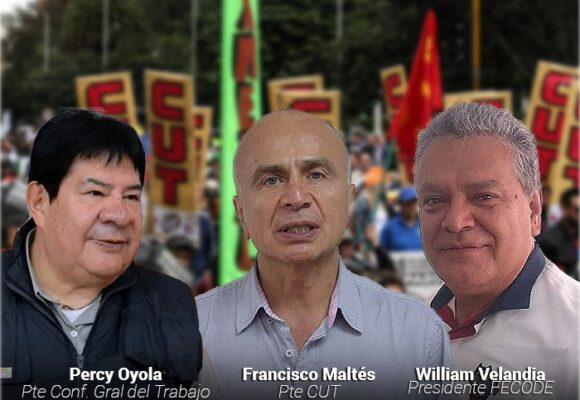 El paro, un trabajo silencioso de las organizaciones sociales y sindicales