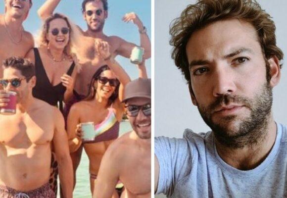 Las lujosas rumbas de Martín Santos en Miami