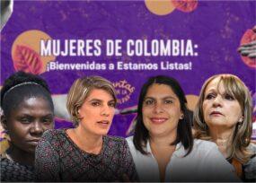 Con un plante de 3 mil activistas feministas arrancaEstamos Listas