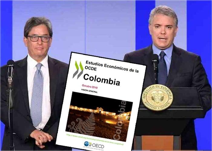 La cartilla de la OCDE para Colombia que Duque y Carrasquilla están cumpliendo con la Reforma Tributaria