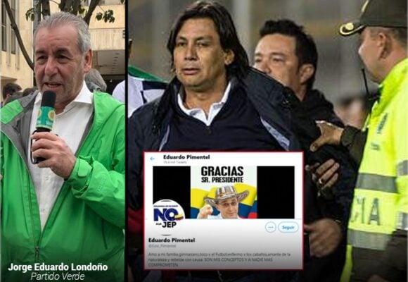 La conversión de Eduardo Pimentel: de los Verdes al Uribismo y el descenso a la B