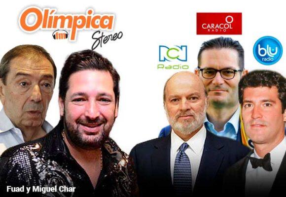 Los Char, también reyes de la radio colombiana