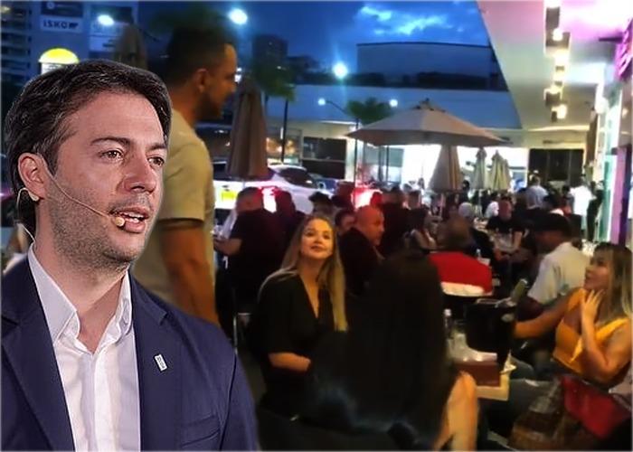Los ricos de Medellín no le comen cuento a Quintero y su cuarentena