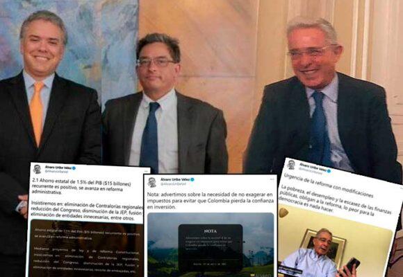 La lavada de manos de Uribe con la reforma tributaria