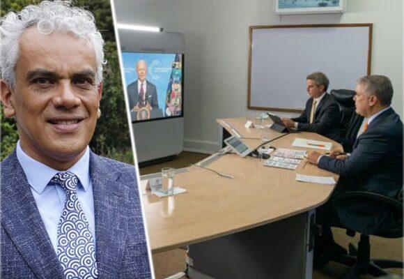 Ricardo Lozano, el asesor en la sombra de Duque en las reuniones del Día de la Tierra