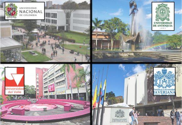 En medio de la pandemia siguen mandando las universidades Nacional, Antioquia y Valle