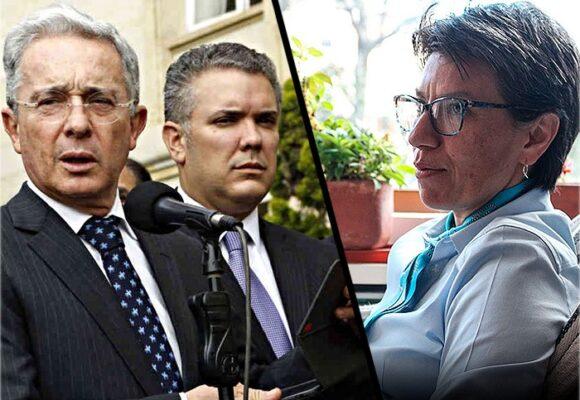 Uribe se mete en la pelea cazada de Claudia López con Duque por la pandemia