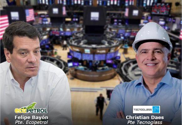 Tecnoglass y Ecopetrol se mueven duro en Wall Street