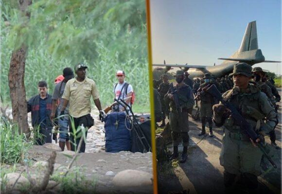 Un mes de enfrentamientos y desplazamientos en la frontera entre Venezuela y Colombia