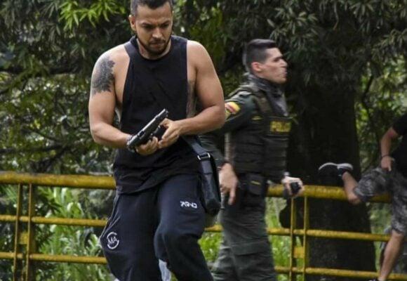 La mujer que le agradeció a Andrés Escobar y a otros civiles armados, disparar contra la marcha