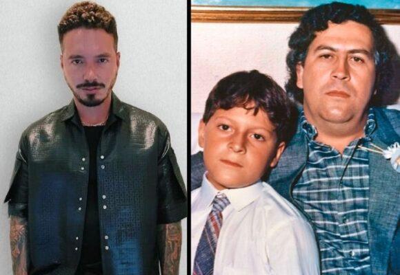 J Balvin y el hijo de Pablo Escobar: como uña y mugre