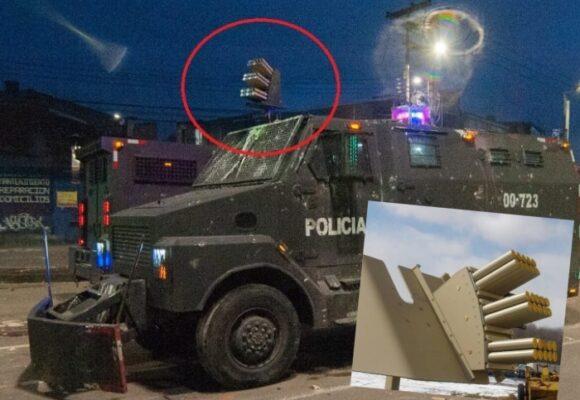 Venom: la temible arma del ESMAD que golpea a los manifestantes