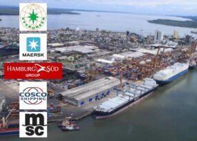 Cinco gigantes navieras emproblemadas en Buenaventura