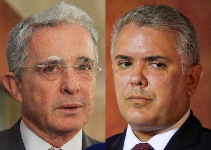 La rajada de Uribe al presidente Duque en España
