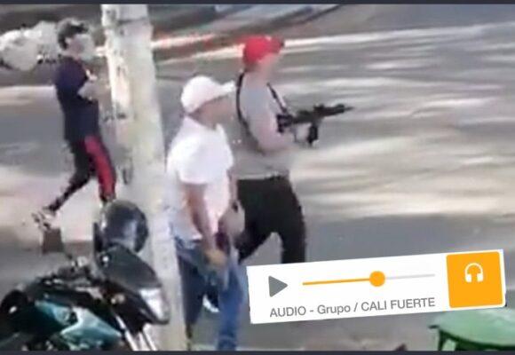"""""""Cali fuerte"""" el grupo de Whatsapp con 120 caleños armados"""