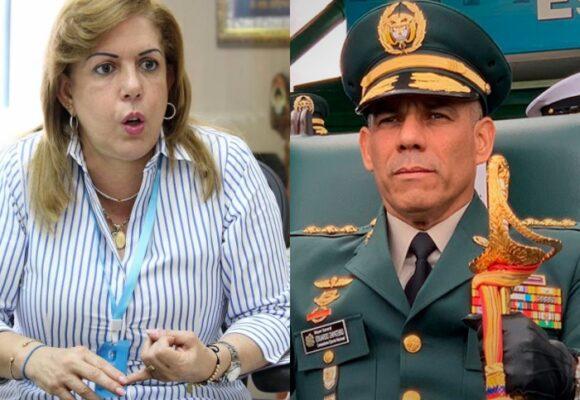 Fuerte reclamo de Clara Luz Roldán al Ejército Nacional