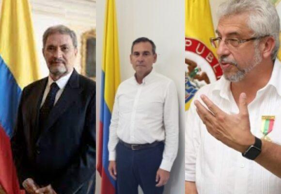 Tres importantes asesores de campaña de Martha L. Ramírez con embajadas