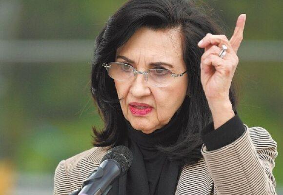 Claudia Blum sigue cazando peleas con países aliados por el Paro Nacional
