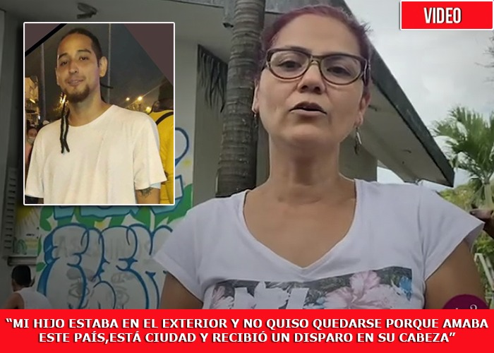 La mamá de Nicolás Guerrero, joven asesinado en Cali, no piensa parar hasta conseguir justicia