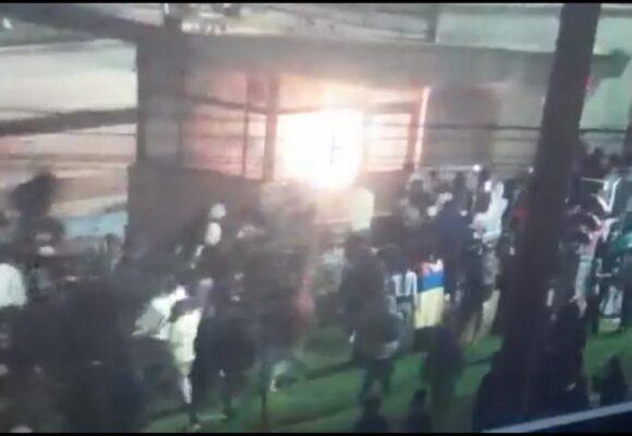 VIDEO: Inadmisible que se intente quemar un CAI con diez policias adentro