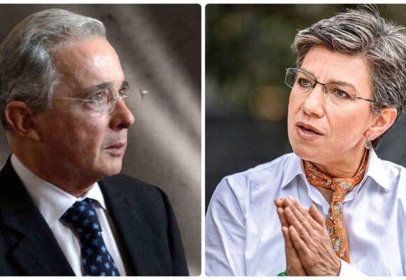 Claudia López acusa a Uribe de incitar a la policía a matar jóvenes que protestan