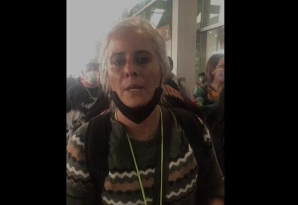 Delegada argentina de Derechos Humanos denuncia persecución del gobierno Duque