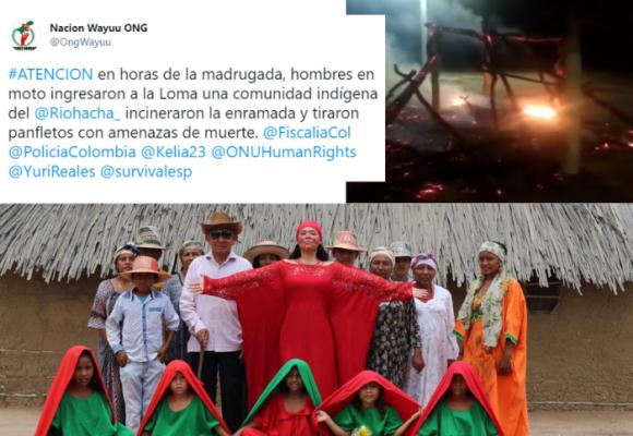 Comunidad Wayuu denuncia amenazas de muerte