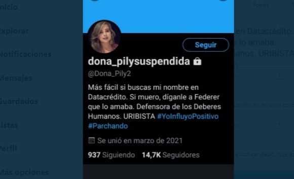 Infame acusación de twittera uribista contra joven que habría sido abusada por la policia