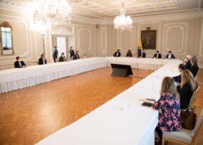 Duque privilegia reuniones con fuerzas políticas y aún no recibe  a los protagonistas de las protestas