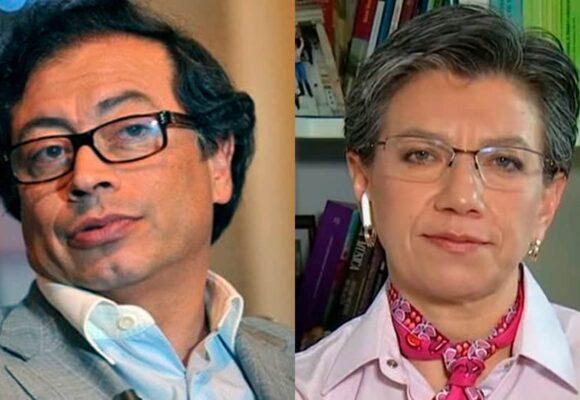 Petro responde a los ataques de Claudia López