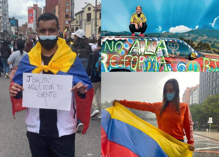 Los pocos influencers que han sacado la cara por los colombianos en el Paro Nacional