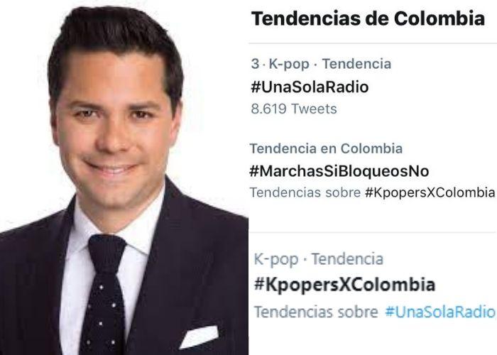 Luis Carlos Vélez, el nuevo objetivo de los seguidores del K-Pop