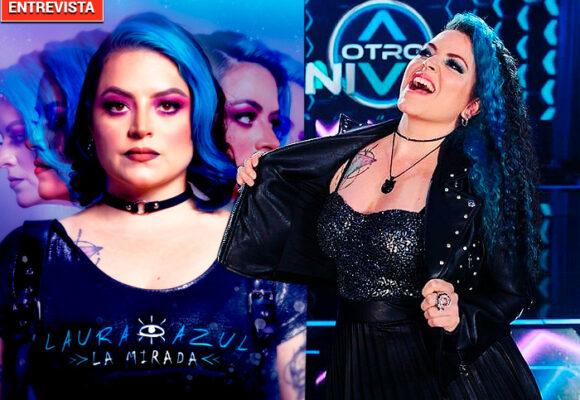 El regreso de Laura Azul, la rockera de 'A otro Nivel'