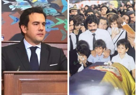 Rodrigo Lara, completamente diferente a su papá, el ministro asesinado