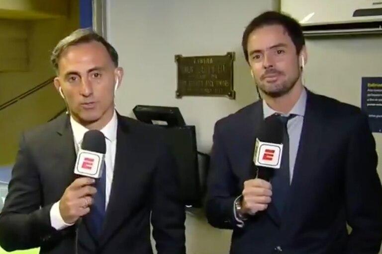 Los periodistas deportivos argentinos tienen los pantalones que les faltan a los colombianos