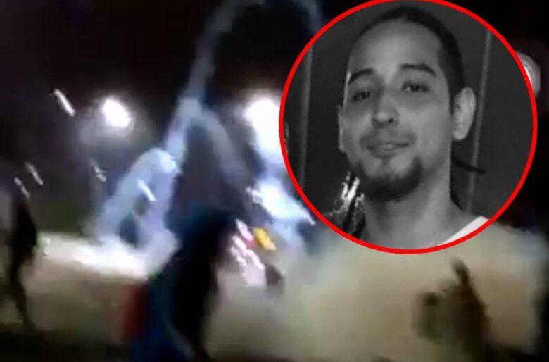 100 mil personas vieron como el ESMAD mataba a Nicolás Guerrero en Cali