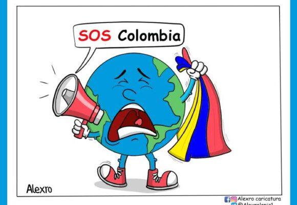 Caricatura: SOS Colombia